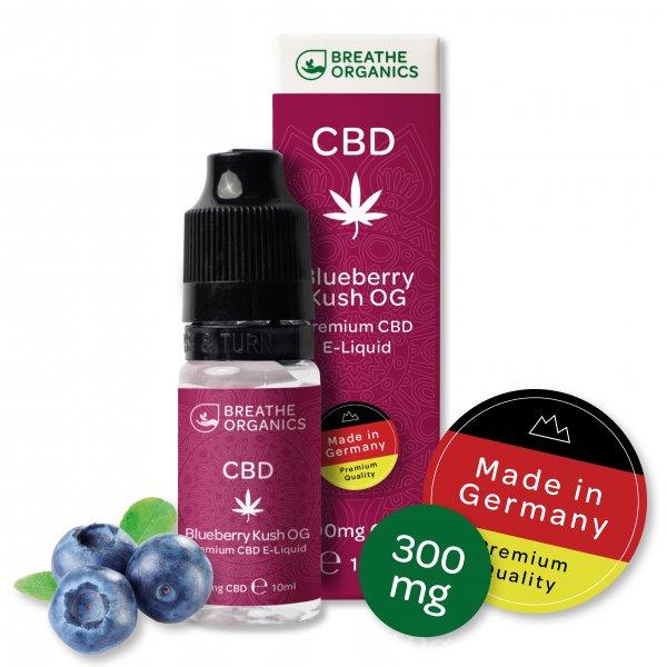 'Breathe Organics' Blueberry Kush OG 300 mg CBD